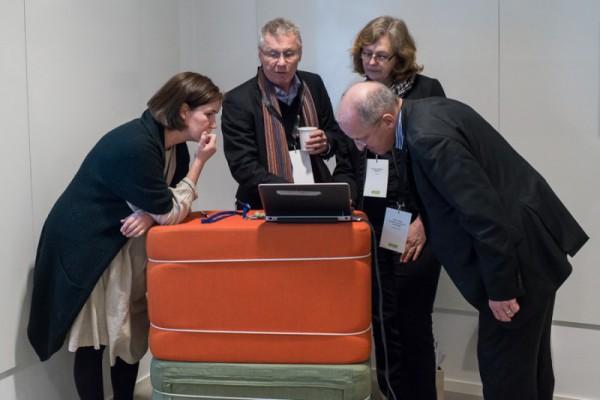 Project leader Bo Dahlbom enlightens about IEA