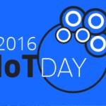 IoTday 2016 schedule
